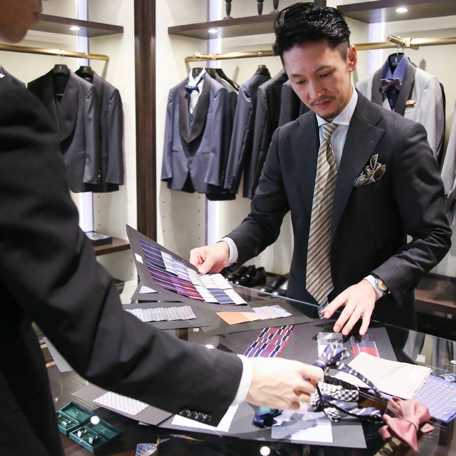 「MIRROR MIRRORのタキシード」を確立させ、紳士服の魅力を伝えていきたい